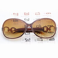 Trend classic oval sunglasses