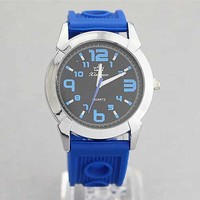 Silicone Band Watch