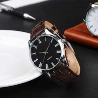 Really belt blue casual male fashion watches