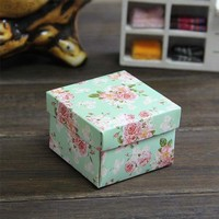 (100PCS) Square Candy Boxes