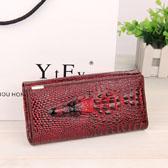Fashion crocodile pattern Women wallet