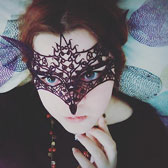 Fox Lace Mask