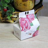 (100PCS,S)Rural Wedding Candy Boxes