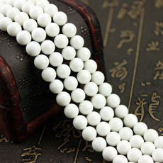 8MM Natural 5A Tridacna Round Beads