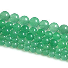 8MM Natural Green Aventurine Round Loose Beads