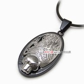 Korean fine titanium steel pendant color retention and leopard