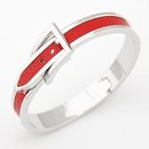 Stylish and elegant and generous, beautiful belt buckle bracelet in fine Korean version