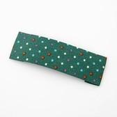 Korean Fashion dots BB folder Barrette / hairpin side folder