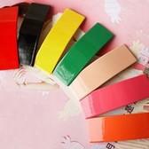 (Price 10) Korean oversized solid color matte BB folder / hairpin / side folder (random hair color)