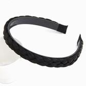 (Black) Korean fashion preparation wig hair bands headdress