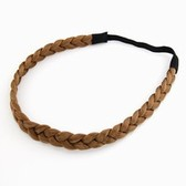 coffee) the Korean Fashion stretch Serratula braided wig hair with braids headdress