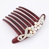 Korean fashion fabulous diamond Variety plug comb / comb / hair accessories