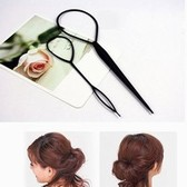 Korean plate made tool set hair shorter hair wearing hair pin bud head pull hair pins (set one large and one small price)