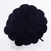 Fan Bingbing with paragraph (dark blue) Korean Fashion: hat layers flower hair bands / hair accessories