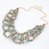Handmade Bohemian Xie Na same paragraph: temperament necklace beads prepared