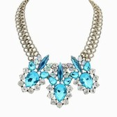 Zhang dazzle colour fashion street snap necklace
