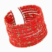 Bohemia Seed Beads Bangle