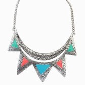 Minority characteristic necklace (colorful)