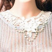 Gothic lace restoring ancient necklace