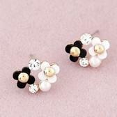 Sweet plum stud earrings