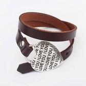 Belt layers bracelet
