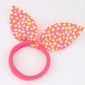 Fashion sweet cloth rabbit ears hair ring hair accessories hair rope
