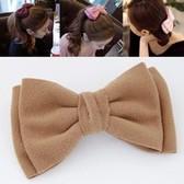 Fashion big bow double hairpin