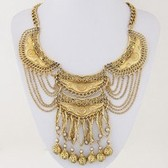 Fashion metal necklaces