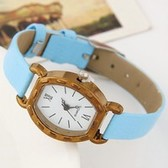 Fashion metal casual leather watches