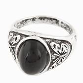 Fashion simple metal ring