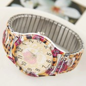 Fashion metal stretch  watches