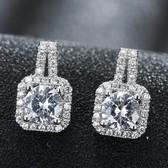 Fashion zircon earrings