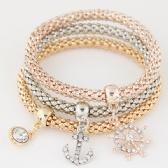 Fashion metal diamond bracelet