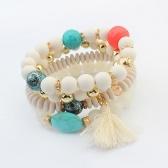 Fashion beads tassel bracelet