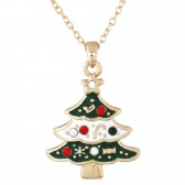 Sweet OL Christmas Tree Necklace
