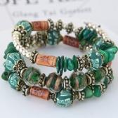 Bohemia shells multilayer bracelet