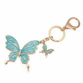 Austria Crystal Butterfly Keychain