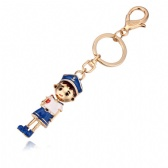 Sports young Keychain