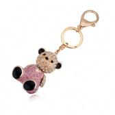 Austria Crystal Bear Keychain
