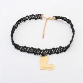 Lace Copper Necklace