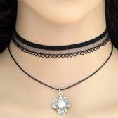 Maple leaf Lace Necklace