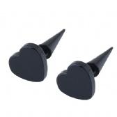 Steel Man Earrings