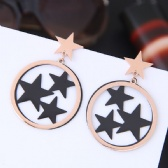Titanium steel Earrings