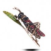 Locusts Brooch