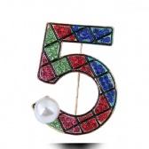 Five Brooch