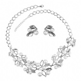 Fashion Bracelet Earrings Set