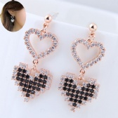 Copper Zircon Earring