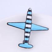Plane Brooch