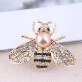 Bees Brooch