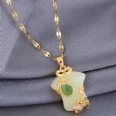 Copper Jade Necklace